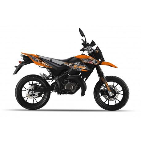 KSR MOTO TR 50 SM arancione