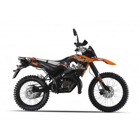 KSR MOTO TR 50 X arancione